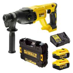 Perforateur SDS-Plus DEWALT DCH133P2 18 V Li-ion (2x5Ah)