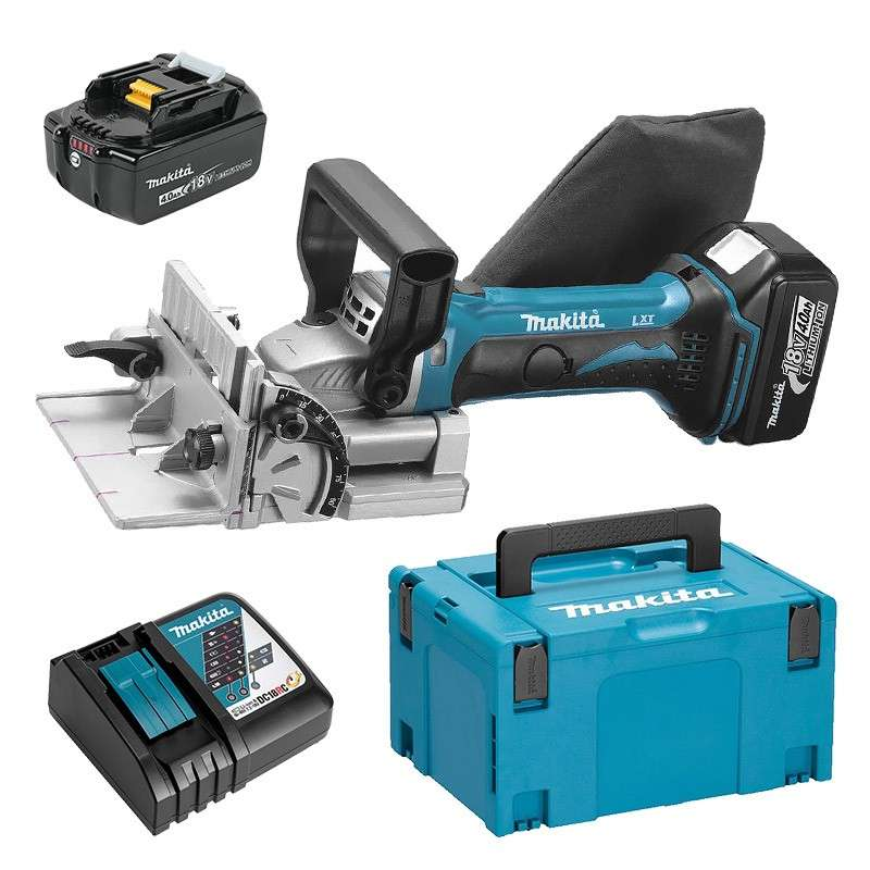 Lamelleuse MAKITA DPJ180RMJ à batteries LXT 18V