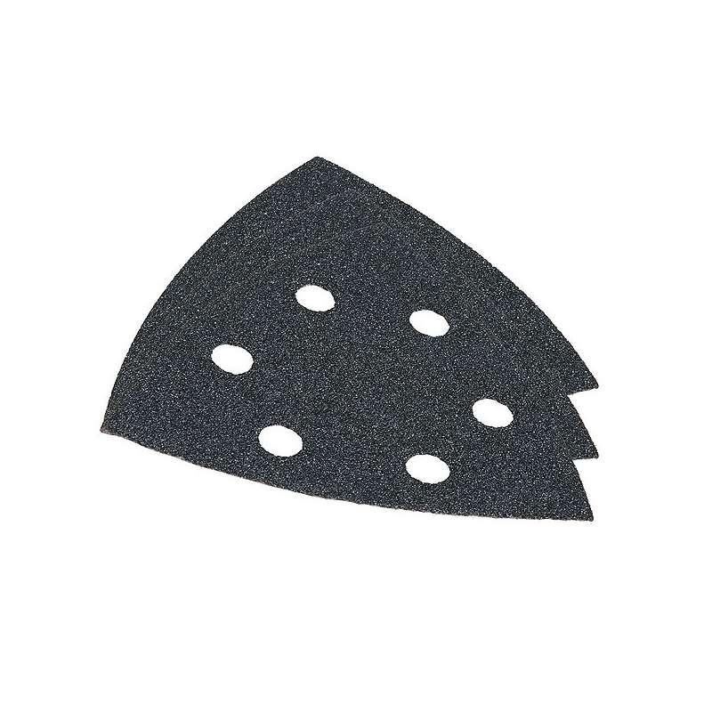 Assortiment de 10 triangles Abrasifs MAKITA B-21733 pour Pierre / Verre