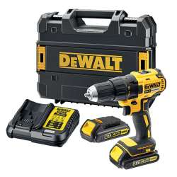 Perceuse visseuse DEWALT DCD777S2T XR 18V Li-Ion Brushless (2x1,5Ah)