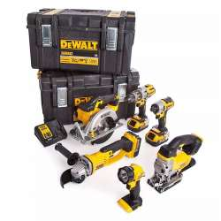 DEWALT DCK694P3 Pack 6 machines 18 V Li-Ion 3 x 5,0 Ah