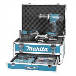 Visseuse Perceuse à Percussion MAKITA DHP453RFX2 à Batteries LXT 18 V (2 x 3,0 Ah)
