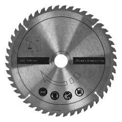 Lame de scie circulaire multi matériaux SCHEPPACH 7901200702 pour bois , laminés