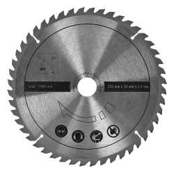 Lame de scie circulaire multi matériaux SCHEPPACH 7901200702
