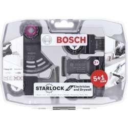 Coffret spécial électricien et plaquiste starlock 6 pièces BOSCH PRO 2608664622
