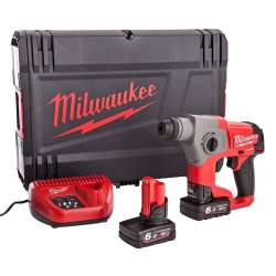 Perforateur burineur MILWAUKEE M12CH-602X (2x6ah)