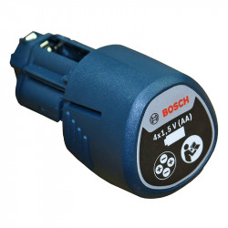 Adaptateur-batterie BOSCH 1608M00C1B pour piles AA