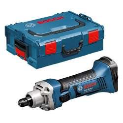 Meuleuse droite BOSCH GGS 18 V-LI sans fil 18V Li-Ion + L-Boxx (Machine Nue)