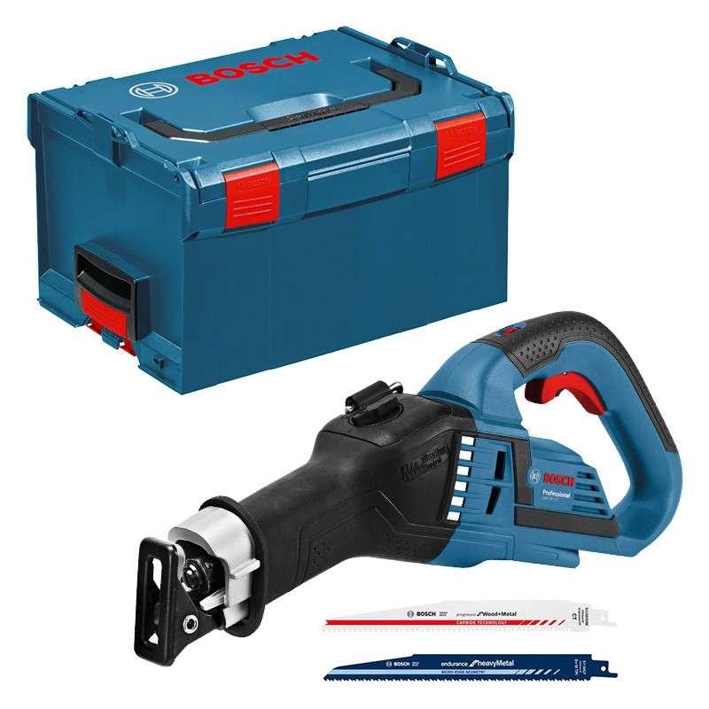Scie sabre sans fil BOSCH GSA 18V-32 Professional 18V (Machine Nue) + L-Boxx