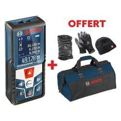 Télémètre Laser BOSCH GLM 50 C Professional + Kit Hiver + Sac Outils