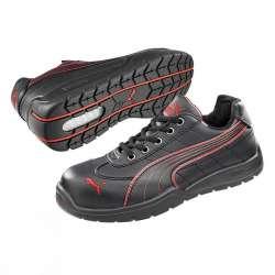 Chaussure de sécurité PUMA MOTORSPORT 64.262.0 DAYTONA LOW S3 SRC HRO NOIRE/ROUGE