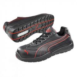 Chaussures de Sécurité PUMA Moto Protect 64.262.0 Daytona Noire / Rouge