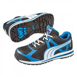 Chaussures de Sécurité Basse PUMA Urban Protect 64.302.0 Aerial Low S1P HRO SRC Bleu