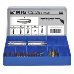 Coffret pour Torche MIG 250 A (MB25) GYS 041233