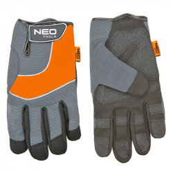 Gants de Travail NEO TOOLS 97-605 Cuir synthétique 10
