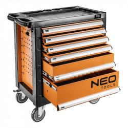 Servante d'atelier vide 6 tiroirs NEO TOOLS 84-223