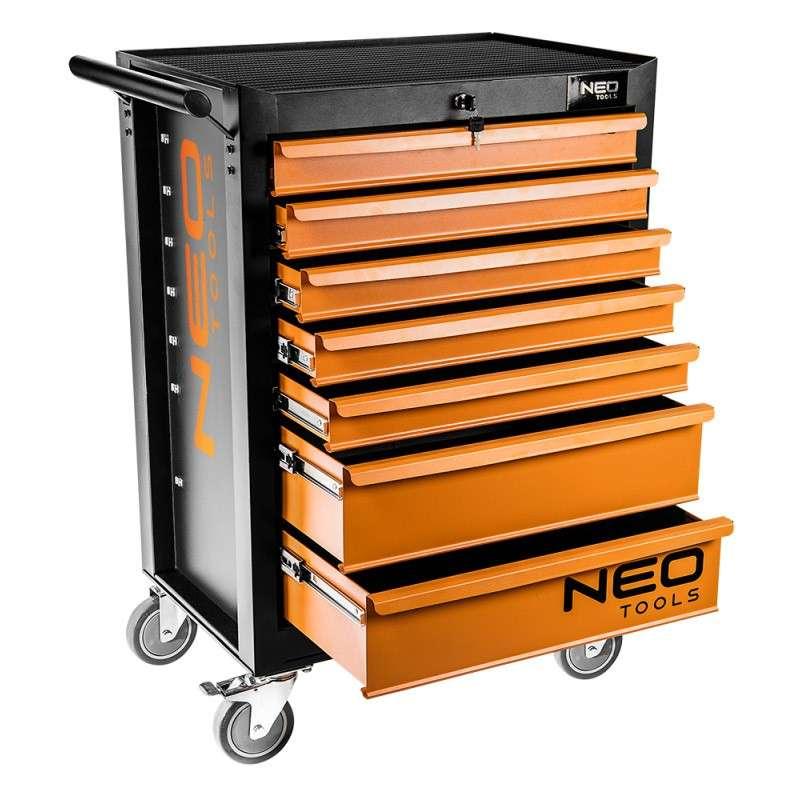 Servante d'atelier vide 7 tiroirs NEO TOOLS 84-222