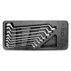 Insert clés polygonales contre-coudées NEO TOOLS 84-233 8 pièces