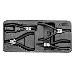 Insert pinces Circlips NEO TOOLS 84-240 4 pièces