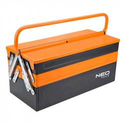 Caisse à outils métal NEO TOOLS
