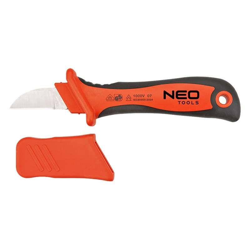 Couteau électricien isolé 1000V NEO TOOLS 01-550
