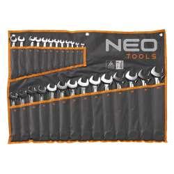 Jeu de 26 clés mixtes à profil cannelé Spline NEO TOOLS 09-035 6 - 32 mm