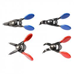 Jeu de 4 Mini-Pinces Circlips NEO TOOLS 11-227