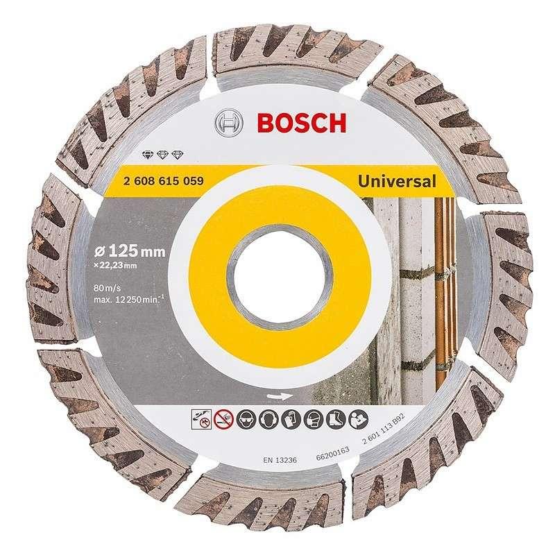 Disques à tronçonner diamantés Standard for Universal Bosch 2608615059