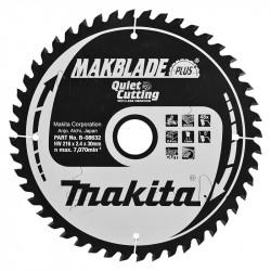 Lames Carbure MAKITA B-08632 Makblade Plus Bois Ø 216 mm 48 dents pour scies radiales et à onglets