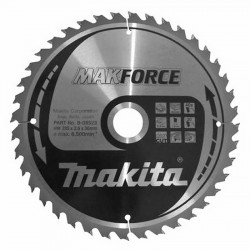 lame carbure makforce makita b 08523 235mm bois pour. Black Bedroom Furniture Sets. Home Design Ideas
