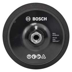 Plateau de polissage velcro 150mm BOSCH 2608612027