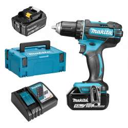 Perceuse visseuse MAKITA DDF482RTJ 18 V Li-Ion (2 x 5Ah) Ø 13 mm