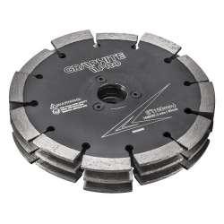 Disque 3 lames pour rainureuse GRAPHITE PRO K02009