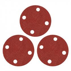 Lot de 3 disques de ponçage auto agrippant grain 24 DIAM CB-37671