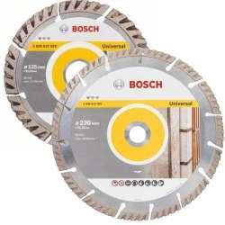 Lot de 2 disques diamant Bosch Professional 06159975H9 125mm/230mm spécial maçon