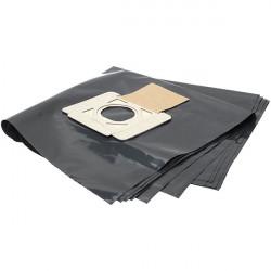 Lot de 5 Sacs Plastiques MAKITA P-70297 pour Récupération des Déchets pour aspirateur