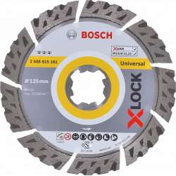 Disque à tronçonner diamanté BOSCH Professional X-LOCK Best for Universal Ø 125x22,23x2,2x12
