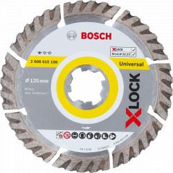 Disque à tronçonner diamanté BOSCH Professional X-LOCK Standard for Universal Ø 125x22,23x2x10