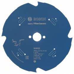 Lame de scie circulaire BOSCH Professional Expert for Fibre Cement Ø 165mm