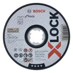 Disque à tronçonner BOSCH Professonal X-LOCK Expert for Inox Ø 125x1,6x22,23 mm