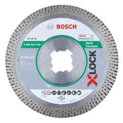 Disque à tronçonner diamanté BOSCH Professional X-LOCK Best for Hard Ceramic Ø 125x22,23x1,4x10