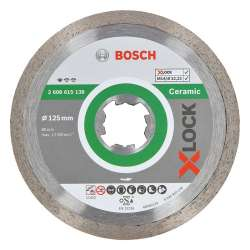 Disque à tronçonner diamanté BOSCH Professional X-LOCK Standard for Ceramic Ø 125x22,23x1,6x7,5