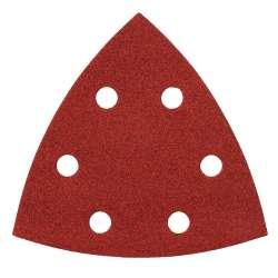 Lot de 10 Triangles abrasifs MAKITA longue durée pour bois