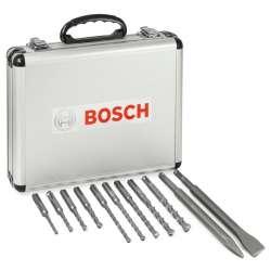 Coffret de 11 forets et burins BOSCH Professional SDS-plus