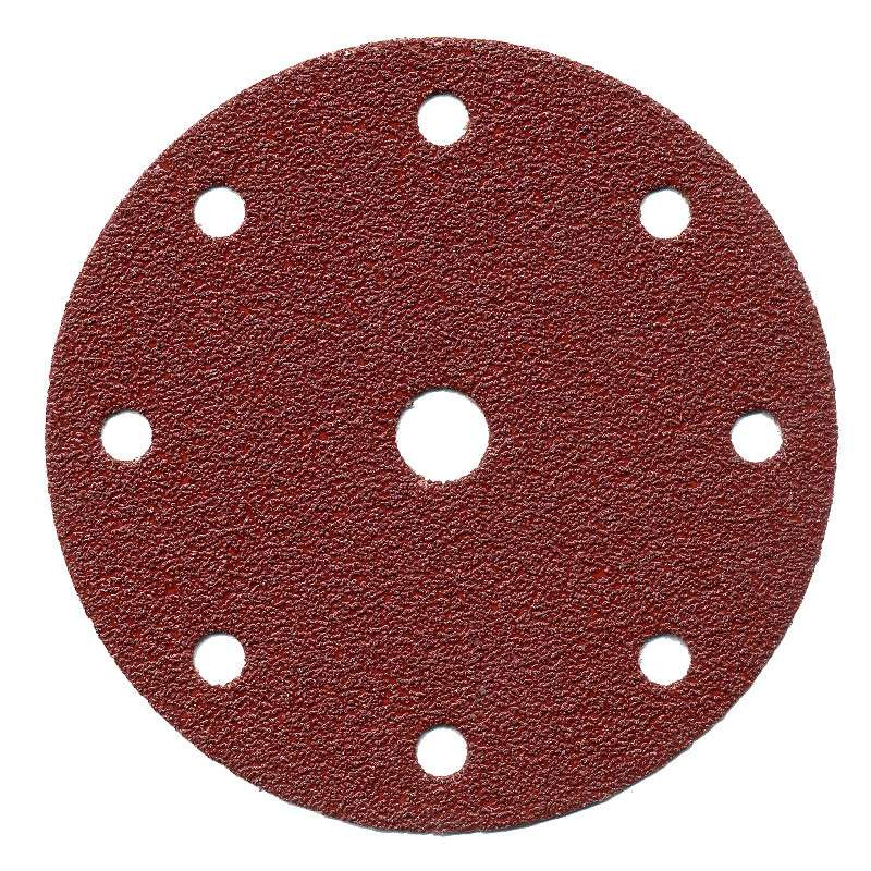 Disque abrasif MAKITA Ø 150mm Red velcro (8+1 trous)