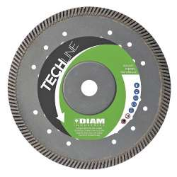 Disque diamant DIAM TS72125 TECHLINE Ø 125mm