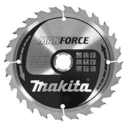 Lame carbure MAKITA B-08296 ''MakForce''' Bois pour scies circulaires Ø 160 mm