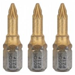 Embouts de vissage BOSCH 2607001544 Max Grip Phillips PH1 3 pièces