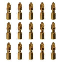 Embouts de vissage MAKITA B-39512 Impact Gold 25mm (15 pcs)