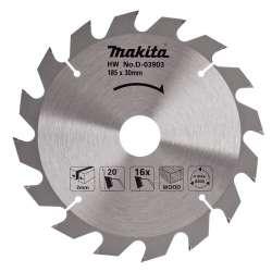 Lame carbure MAKITA D-03903 standard bois pour scies circulaires